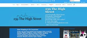 239 The High Street Harris Tweed Shop, Portobello, Edinburgh